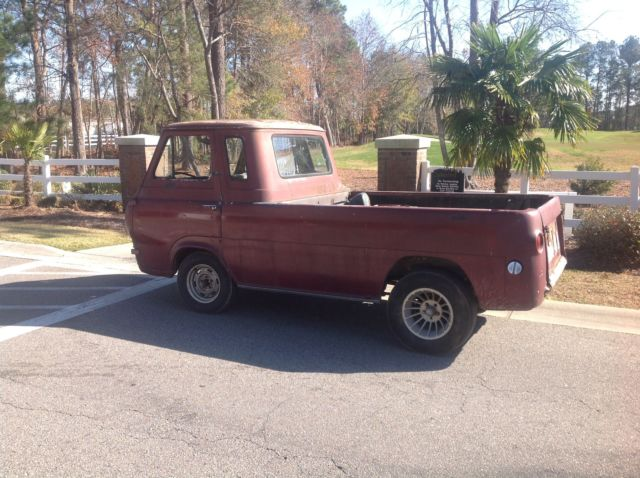 Cheap Cars For Sale In Va >> 1962 Ford Econoline pick up hot rod, rare barn find ...