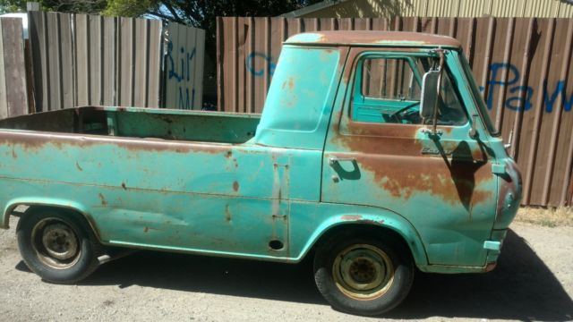 1962 Ford Econoline Pickup Classic And Rare 1961 1967 Collector