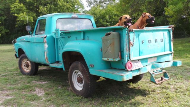 1962 Ford F-250 Base Standard Cab Pickup 2-Door