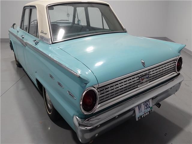 1962 Ford Fairlane 500 19,487 Miles Blue 4 door V-8 221