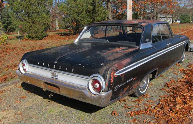 1962 Ford Galaxie 500XL Club Victoria Classic Antique Barn Find 500 XL 2 Door DR
