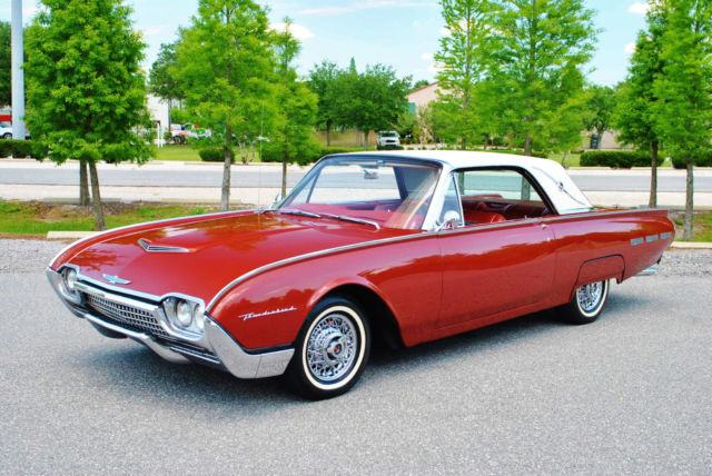 1962 Ford Thunderbird Landau Beautiful Car Leather PS PB No reserve