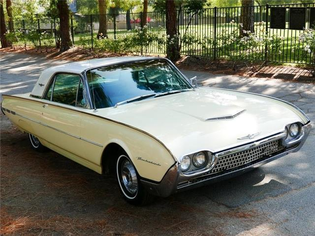 1962 Ford Thunderbird yellow /white Low Miles