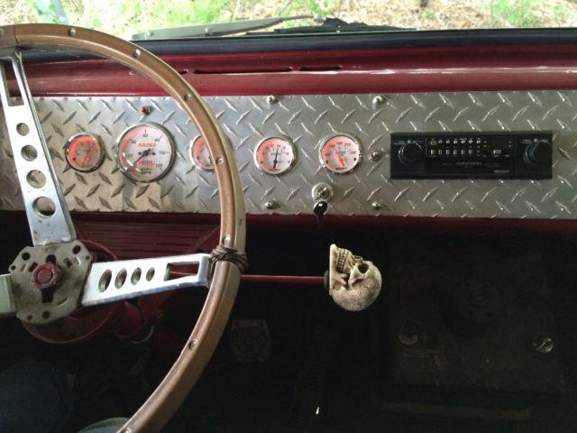 1962 Ford Van Econoline Hippie Wagon For Sale Photos Technical