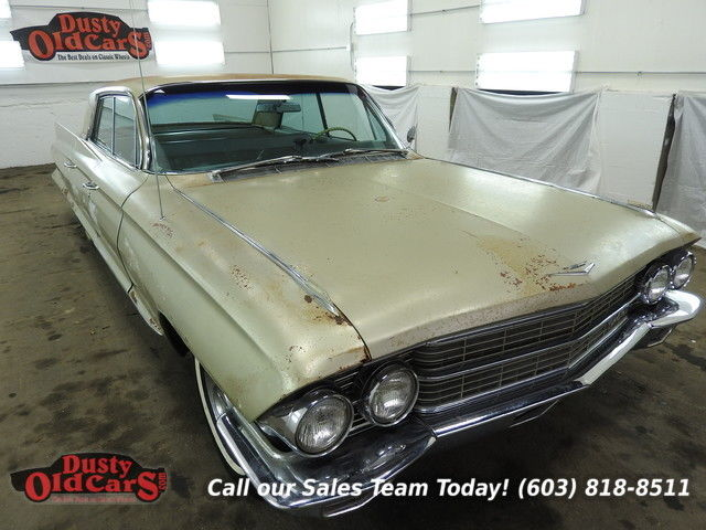 1962 Cadillac DeVille Runs Yard Drives Needs Brake work TLC 390V8 3spd