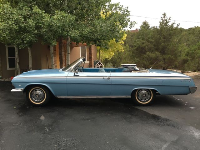 1962 impala convertible for sale photos technical specifications description. Black Bedroom Furniture Sets. Home Design Ideas