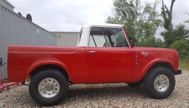 1962 International Scout 80 Convertible Pickup For Sale Photos Technical Specifications Description