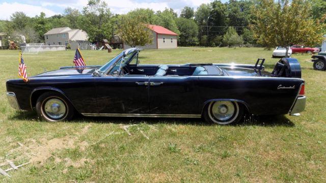 1962 Jfk Lincoln Continental Sedan Parade Car For Sale Photos