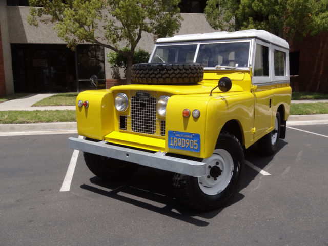 1962 Land Rover Defender SERIES IIA