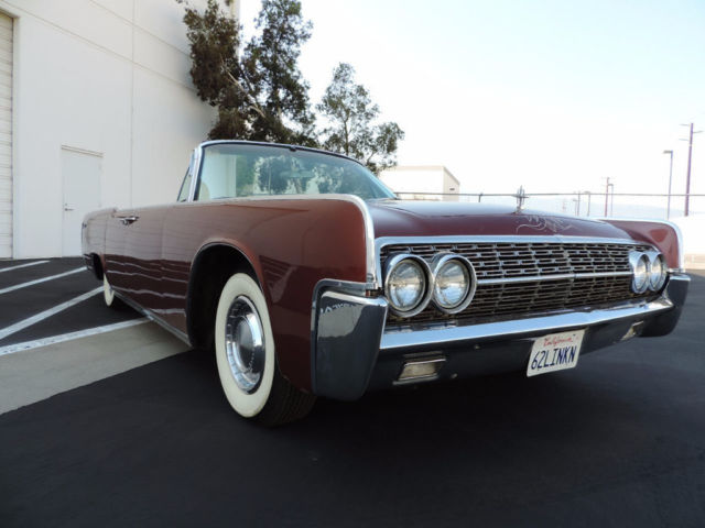1962 lincoln continental convertible suicide doors entourage car classi. Black Bedroom Furniture Sets. Home Design Ideas