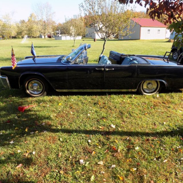 1962 lincoln continental jfk parade car car for sale photos technical specifications description. Black Bedroom Furniture Sets. Home Design Ideas
