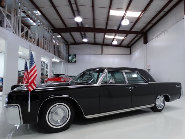 1962 Lincoln Continental USED BY JFK DURING HIS ADMINISTRATION!