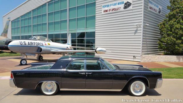1962 Lincoln Continental Door Hardtop Sedan - Original - 462 ...