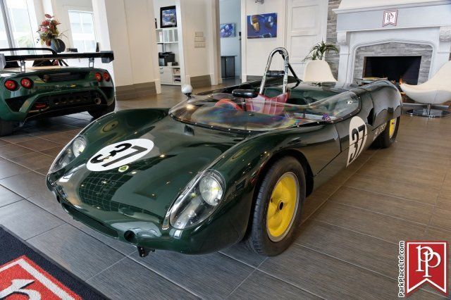 1962 Green Lotus 23 Sports Racing Car Sports Racing Car with Red interior