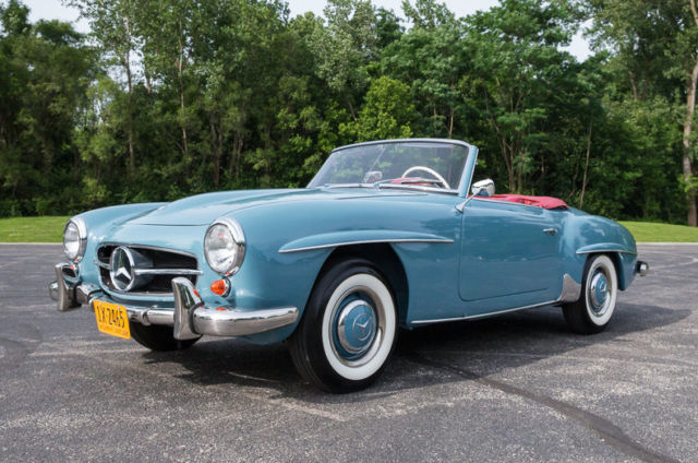 1962 Mercedes-Benz 190-Series Convertible