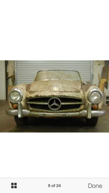 1962 Mercedes-Benz 190-Series