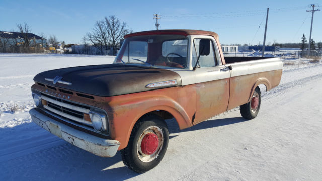 1962 Ford F-250 Mercury Unibody