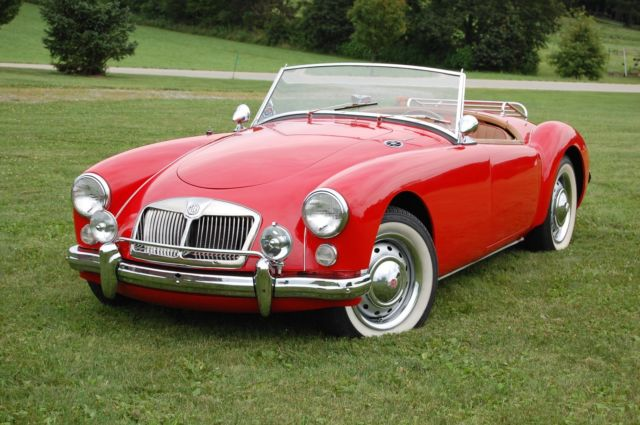 1962 MG MGA Convertible