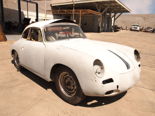 1962 Porsche 356 COUPE 356 B 1600 RESTORATION PROJECT