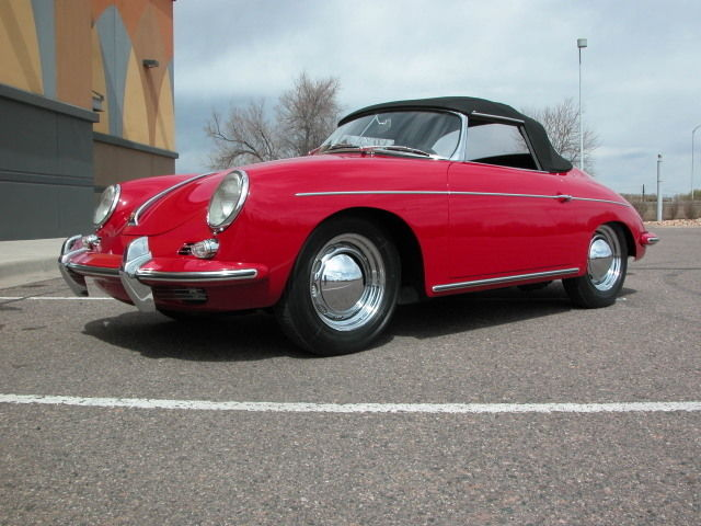 1962 Porsche 356 Rubinrot 6202B (Ruby Red Color) Enamel