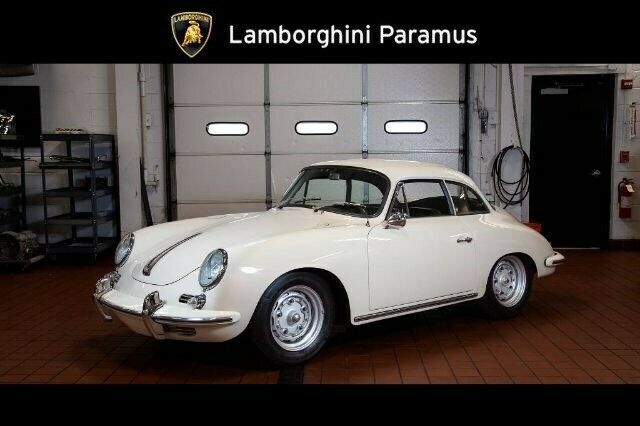 1962 Porsche 356 Super 90 Karmann Notchback Hardtop T6