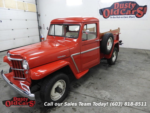 1962 Willys Pickup Runs Drives Body Inter Excel 4wd Full Resto