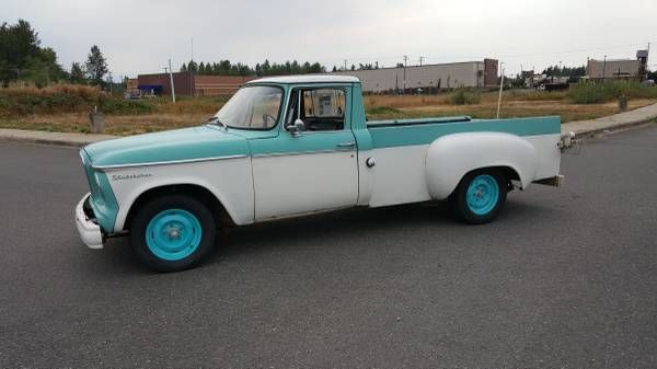 1962 Studebaker Pick up Truck Champ