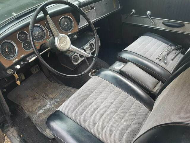1962 Black Studebaker Hawk GT Coupe with Black interior