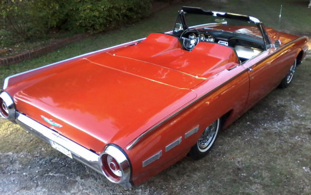 1962 Ford Thunderbird CONVERTIBLE ROADSTER