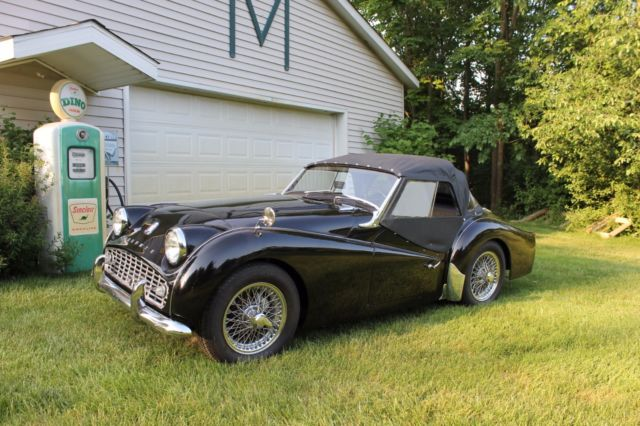 1962 Triumph TR3B for sale: photos, technical specifications