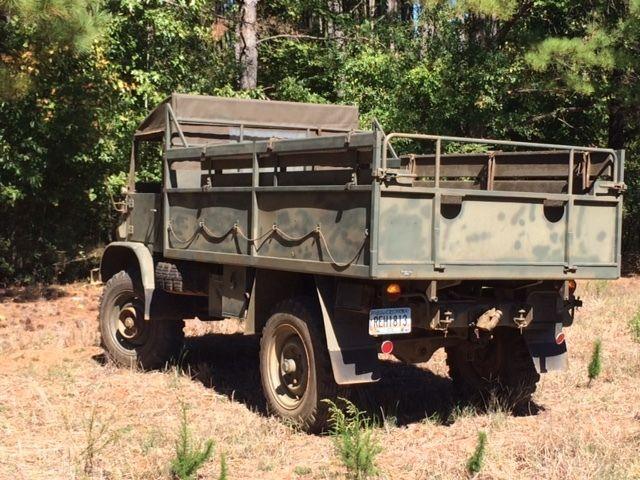 1962 Unimog 404 S Swiss Army Troop Carrier Original Military