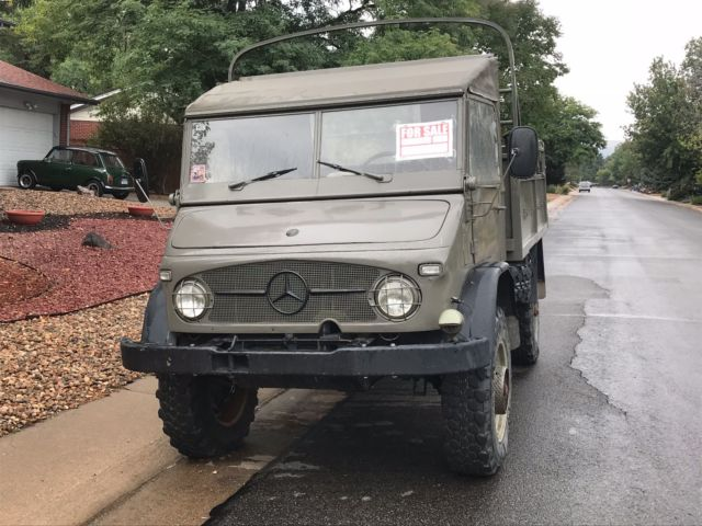1962 Unimog S404 Swiss Troop Carrier For Sale Photos Technical