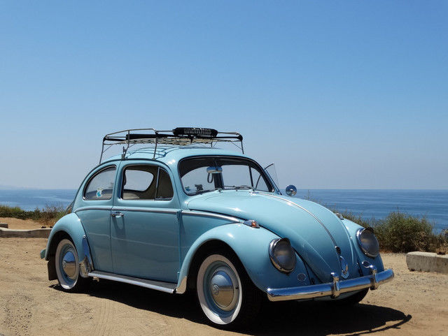 1962 Volkswagen Beetle Blue For Photos Technical