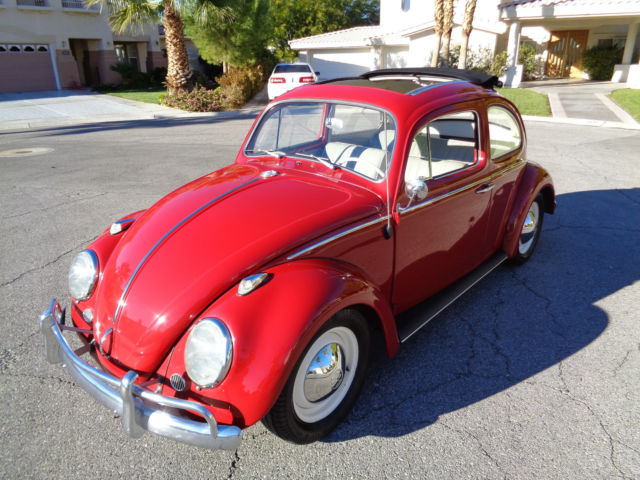 1962 volkswagen beetle ragtop bug for sale photos. Black Bedroom Furniture Sets. Home Design Ideas