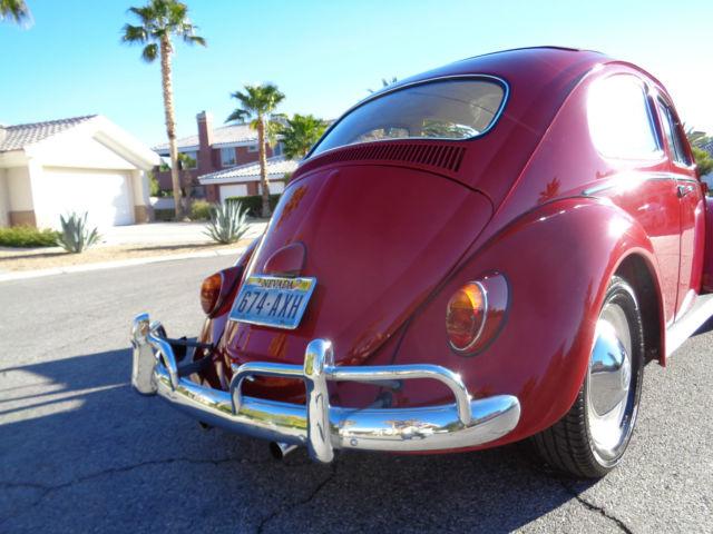 1962 Volkswagen Beetle Quot Ragtop Quot Bug For Sale Photos