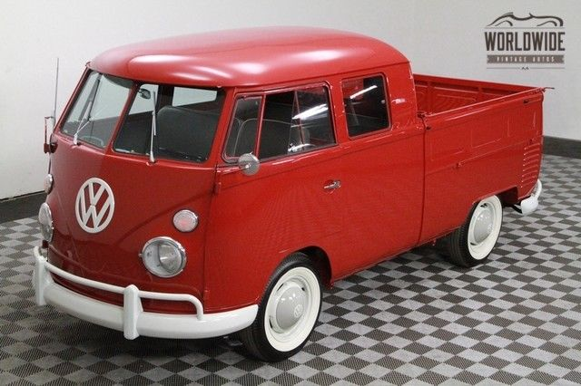 1962 Volkswagen Double Cab Transporter! Showroom Condition!