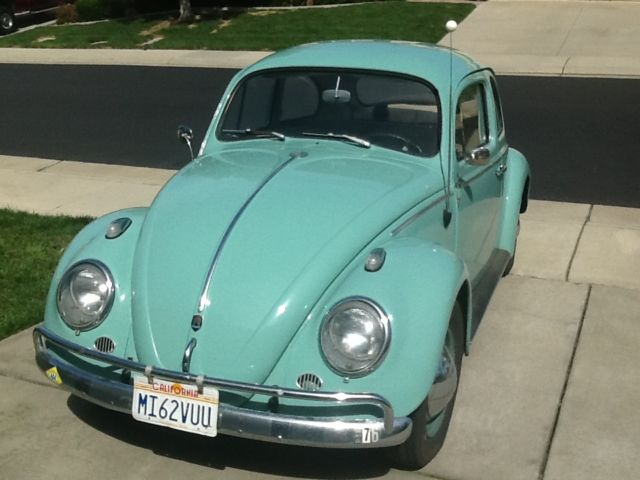 1962 Vw Beetle One Owner Always Garaged Rebuilt Engine And