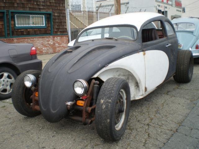 1962 VW bug chop top Volksrod custom rod for sale: photos, technical specifications, description