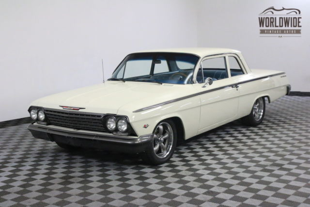 1962 Chevrolet BEL AIR FRAME-OFF RESTORED. V8. MUNCIE 4 SPEED