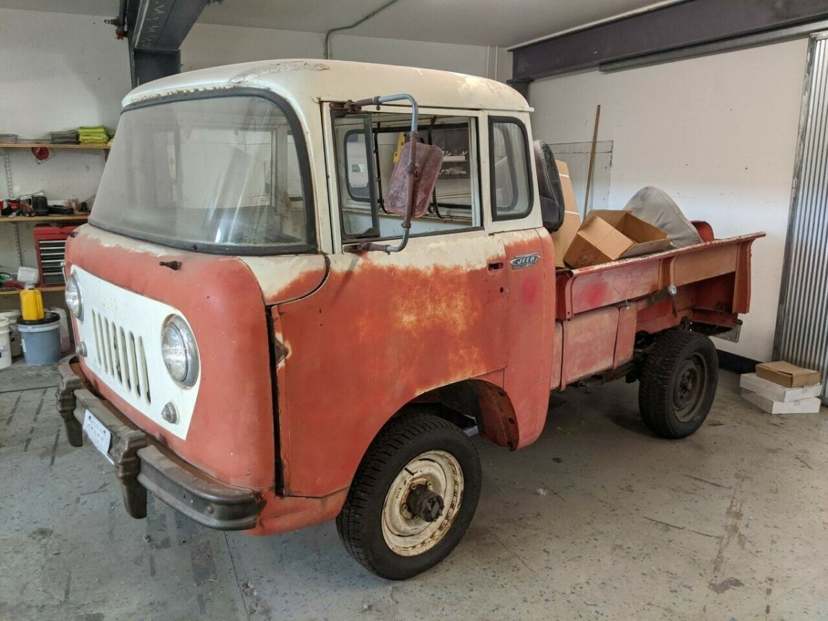 1962 Willys Jeep Fc150 Fc 150 Forward Control Cabover Pickup For Sale Photos Technical Specifications Description