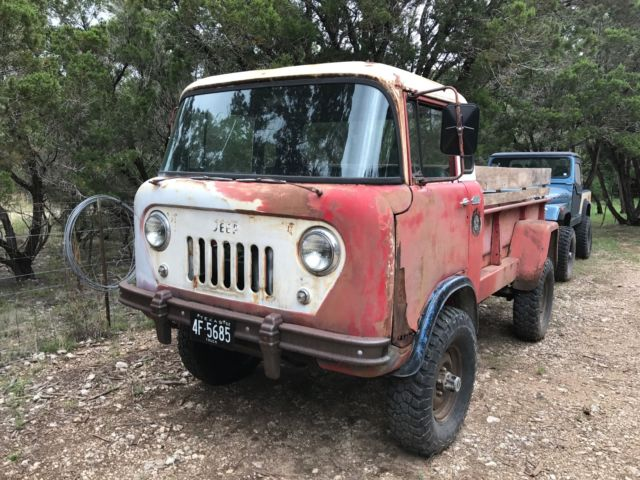 1962 Willys Jeep Fc170 With Dump Bed And Granny 4 Spd For Sale