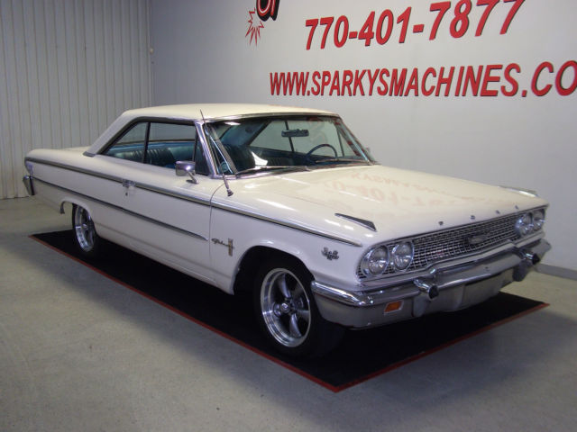 Used Cars For Sale In Georgia >> 1963-1/2 Ford Galaxie 500 for sale: photos, technical specifications, description