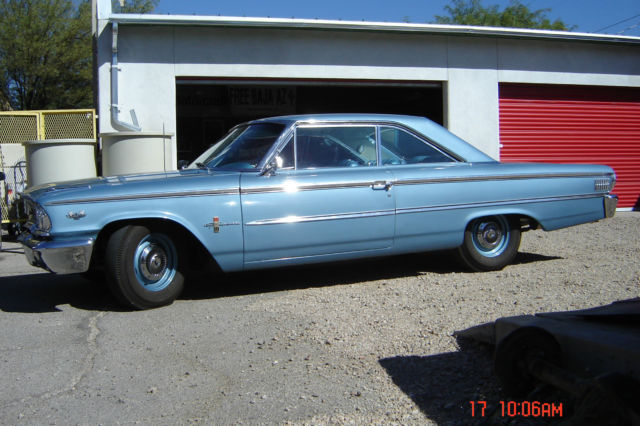 1963 Ford Galaxie R-code