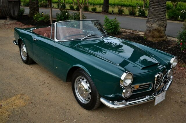 1963 Alfa Romeo 2600 SPIDER HAND BUILT - 1 of 2,225