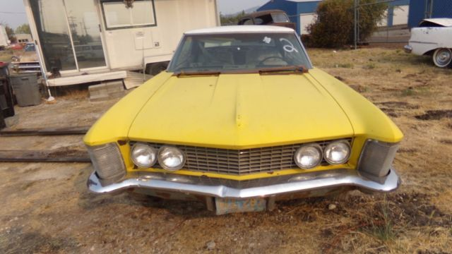 1963 Buick Riviera 2 DOOR AUTOMATIC**NO RESERVE**