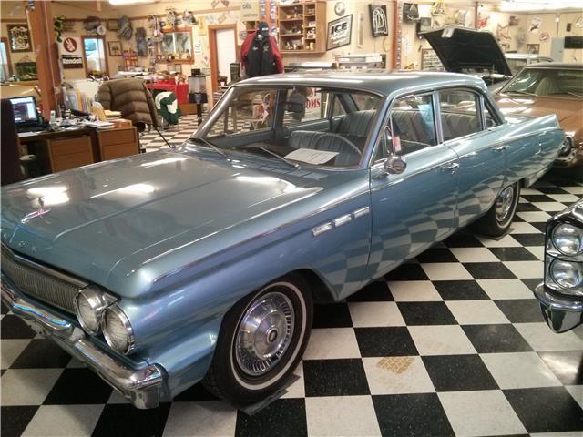 1963 Buick Special 70 250 Miles Blue 4 Door 215 V 8