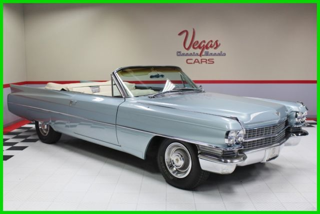 1963 Cadillac Series 62 1963 Cadillac Convertible! Great looking driver!
