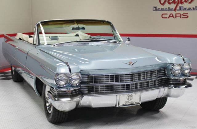 1963 cadillac convertible great looking driver for sale photos. Black Bedroom Furniture Sets. Home Design Ideas