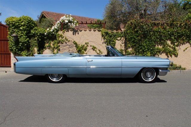 1963 cadillac convertible ser 62 3 owner low mile california car ice