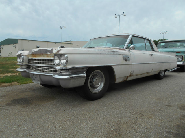 1963 Cadillac DeVille COUPE DEVILLE, 63 CADDY, BARN FIND, PROJECT, RAT R